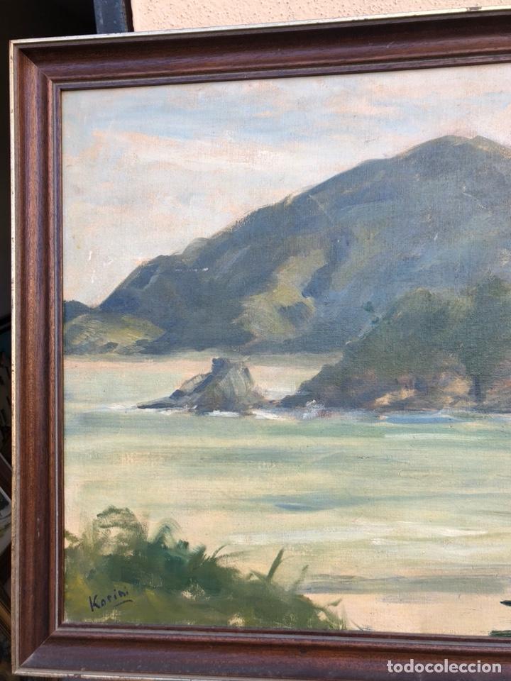 Arte: Precioso óleo sobre tabla firmado Eugenio korini - Foto 3 - 188418242