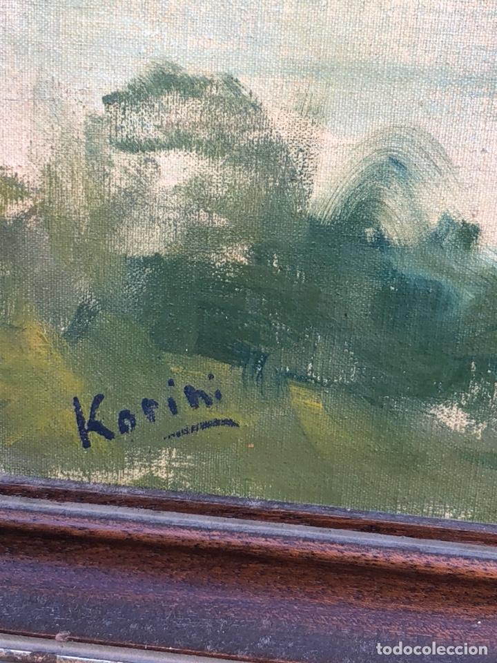Arte: Precioso óleo sobre tabla firmado Eugenio korini - Foto 4 - 188418242