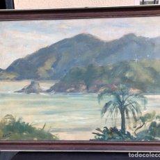 Arte: PRECIOSO ÓLEO SOBRE TABLA FIRMADO EUGENIO KORINI. Lote 188418242