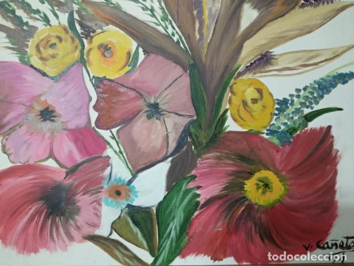 VICENTE CAÑETE. FLORERO ( 1ER ALUMNO DE SALVADOR DALI) (Arte - Pintura - Pintura al Óleo Contemporánea )