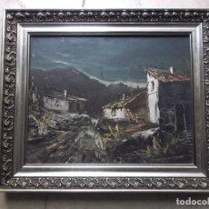 Arte: CUADRO OLEO ORIGINAL, FIRMADO POR EL AUTOR, IGLESIAS. Lote 188559887
