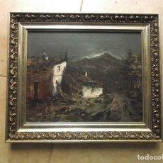 Arte: CUADRO OLEO ORIGINAL, FIRMADO POR EL AUTOR, IGLESIAS. Lote 188559963