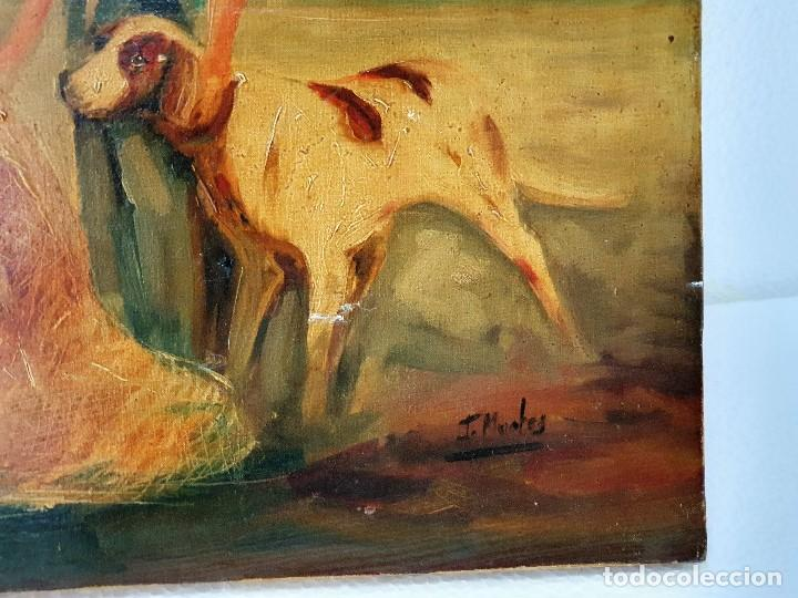 Arte: OLEO SOBRE LIENZO FIRMADO MUY ANTIGUO - Foto 3 - 188681187