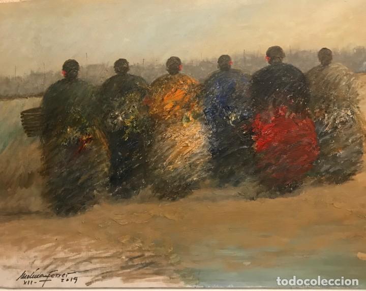 SEÑORAS (Arte - Pintura Directa del Autor)