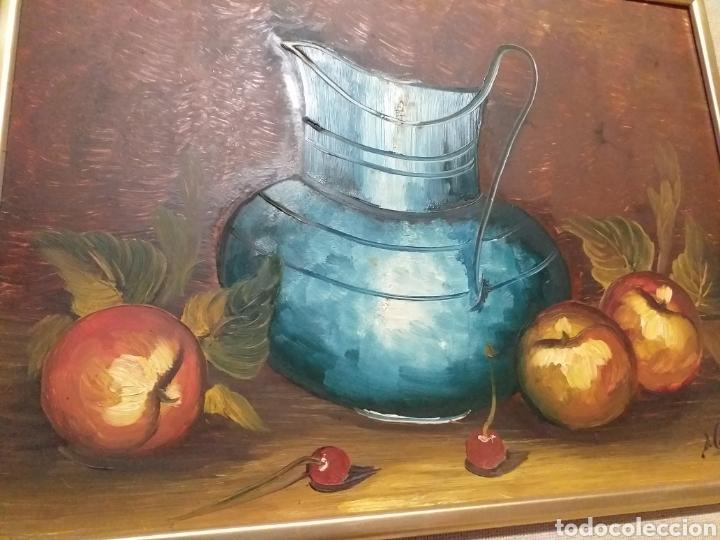 Arte: cuadro de pintura al óleo con un precioso enmarcado. - Foto 4 - 189144197