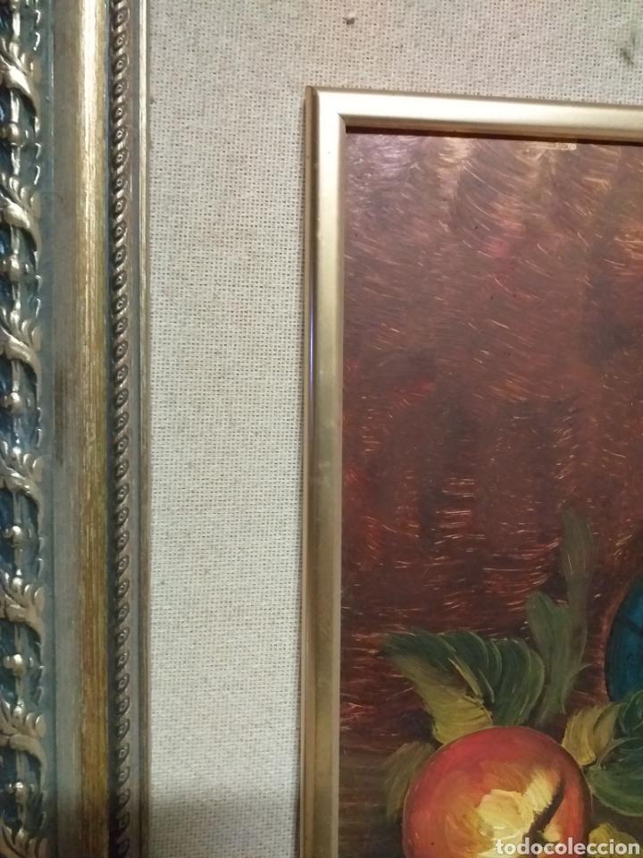 Arte: cuadro de pintura al óleo con un precioso enmarcado. - Foto 5 - 189144197