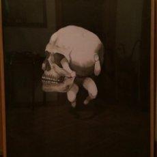 Arte: PINTURA AGUADA. NACIMIENTO Y MUERTE EN SOLEDAD. CON MARCO Y CRISTAL. 82 X 72 CM. PREMIO AIIM. Lote 189367853