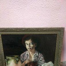 Arte: BONITA TABLA PINTADA ANTIGUA . Lote 189444251