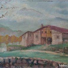 Arte: ÓLEO DEL PINTOR VASCO BAY SALA. Lote 189483617