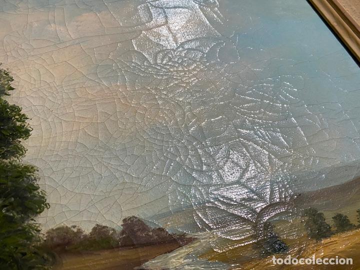 Arte: Hans Berger , SUIZA , ÓLEO LIENZO , SWISS , OIL PAINTING - Foto 3 - 189504738
