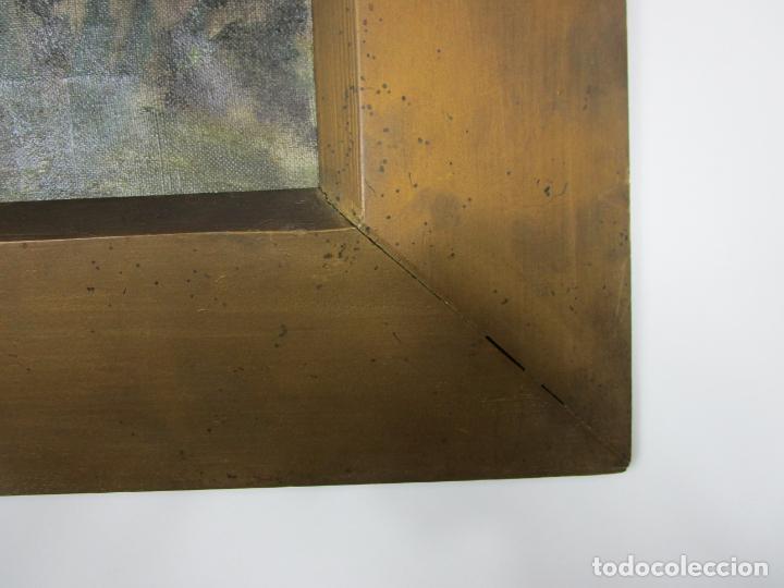 Arte: Melchor Domenge (Olot 1871 - 1939) - Paisaje - Óleo sobre Tela - Alumno Preferido de Vayreda - Foto 5 - 189728813