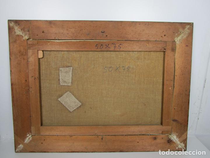 Arte: Melchor Domenge (Olot 1871 - 1939) - Paisaje - Óleo sobre Tela - Alumno Preferido de Vayreda - Foto 6 - 189728813