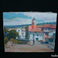 Arte: FRANCISCO CALABUIG GISBERT, BONITO OLEO SOBRE LIENZO.. Lote 189753191