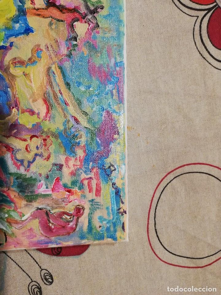 Arte: Cuadro Pintura Impresionista -abstracta , Acrilico sobre lienzo firmado - Foto 3 - 102822563