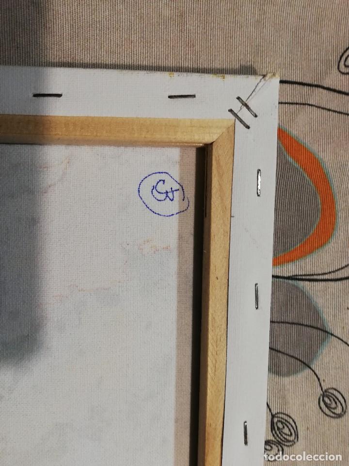 Arte: Cuadro Pintura Impresionista -abstracta , Acrilico sobre lienzo firmado - Foto 4 - 102822563