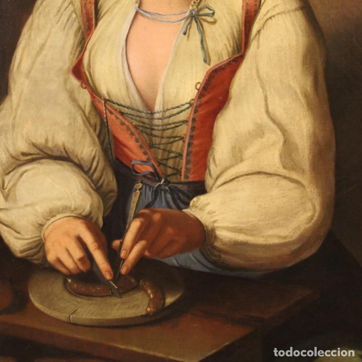Arte: Pintura antigua retrato italiano del siglo XVIII - Foto 3 - 189806997