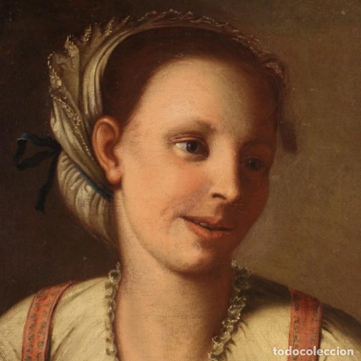 Arte: Pintura antigua retrato italiano del siglo XVIII - Foto 5 - 189806997
