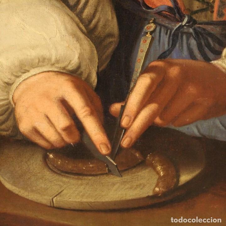 Arte: Pintura antigua retrato italiano del siglo XVIII - Foto 8 - 189806997
