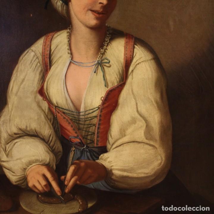 Arte: Pintura antigua retrato italiano del siglo XVIII - Foto 10 - 189806997
