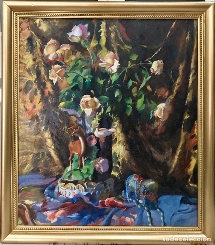 PERE SEGIMON CISA (1904-1976 BARCELONA) (Arte - Pintura - Pintura al Óleo Antigua sin fecha definida)