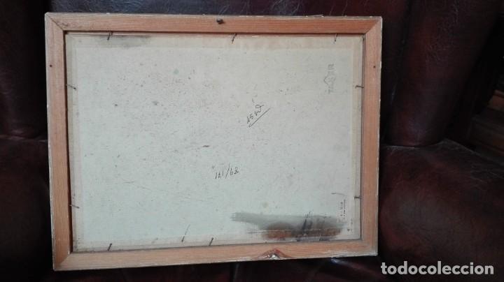 Arte: Cacería de ciervos óleo sobre lienzo firmado Lewis - Foto 3 - 190002762