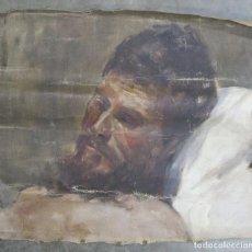 Arte: BOCETO DE ESTUDIO ACADEMICO. OLEO S/ LIENZO. FINALES SIGLO XIX-PPIOS. SIGLO XX. Lote 190066493