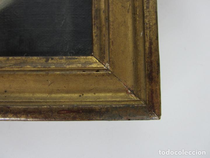Arte: Retrato Beatrice Cenci - Guido Reni - Óleo sobre Tela - Proviene del Castillo de San Denis, Francia - Foto 6 - 221984443