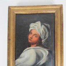 Arte: RETRATO BEATRICE CENCI - GUIDO RENI - ÓLEO SOBRE TELA - PROVIENE DEL CASTILLO DE SAN DENIS, FRANCIA. Lote 190113483