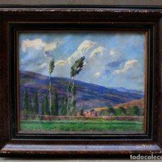 Arte: JUAN FERRER CARBONELL, PAISAJE, PINTURA ÓLEO SOBRE TELA, FIRMADA, CON MARCO. 41X33,5CM. Lote 190117830