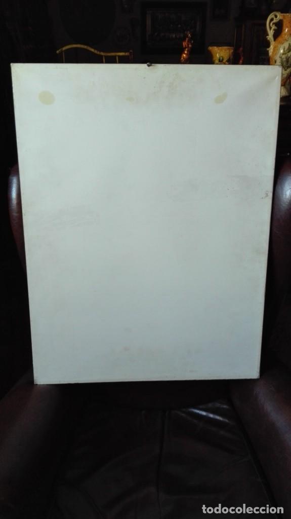 Arte: Pájaro abstracto óleo , acrílico o acuarela sobre papel - Foto 4 - 190121801