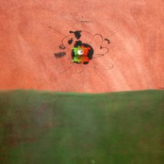 Arte: FRANCISCO BONET -BONETY- (BARCELONA, 1941) TECNICA MIXTA SOBRE CARTULINA. SIN TITULO. Lote 190122551