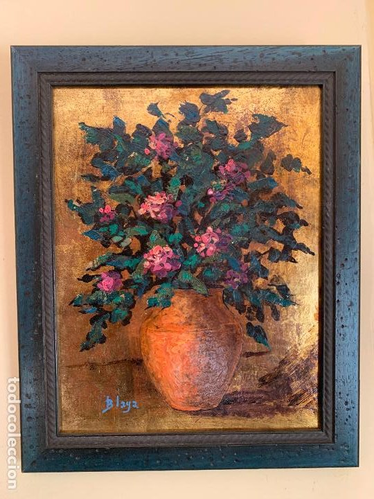CUADRO PINTURA AL OLEO FIRMADO BLAYA (Arte - Pintura - Pintura al Óleo Moderna sin fecha definida)