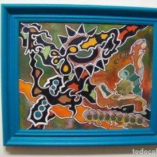 Arte: CUADRO ORIGINAL AL OLEO SOBRE TELA. Lote 190172951