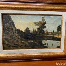 Arte: ÓLEO DE PAISAJE. Lote 190199052