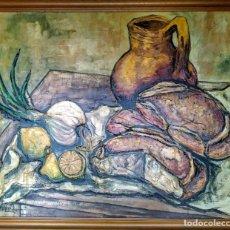 Arte: BODEGÓN CASTELLANO FERNANDO ESCOBAR. Lote 190277278