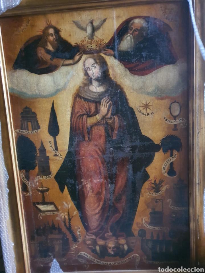 INMACULADA ESCUELA VALENCIANA. CIRCULO VICENTE MASIP (Arte - Pintura - Pintura al Óleo Antigua siglo XVI)