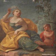 Arte: PINTURA ITALIANA ANTIGUA ALEGORÍA DE LA PRIMAVERA DEL SIGLO XVIII. Lote 190413933