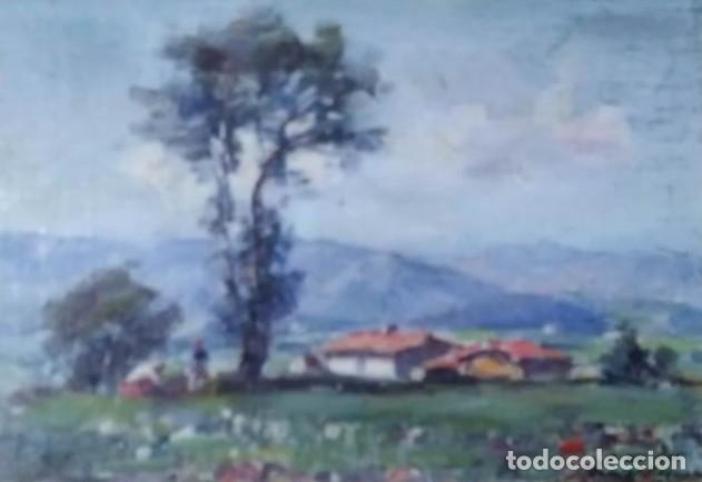 OLIVET LEGARES. OLEO FIRMADO 1934 (Arte - Pintura - Pintura al Óleo Contemporánea )