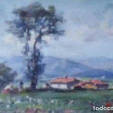 Arte: OLIVET LEGARES. OLEO FIRMADO 1934. Lote 135589614