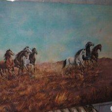Arte: CUADRO OLEO SOBRE LIENZO,GRANDE,FIRMADO.. Lote 190611070
