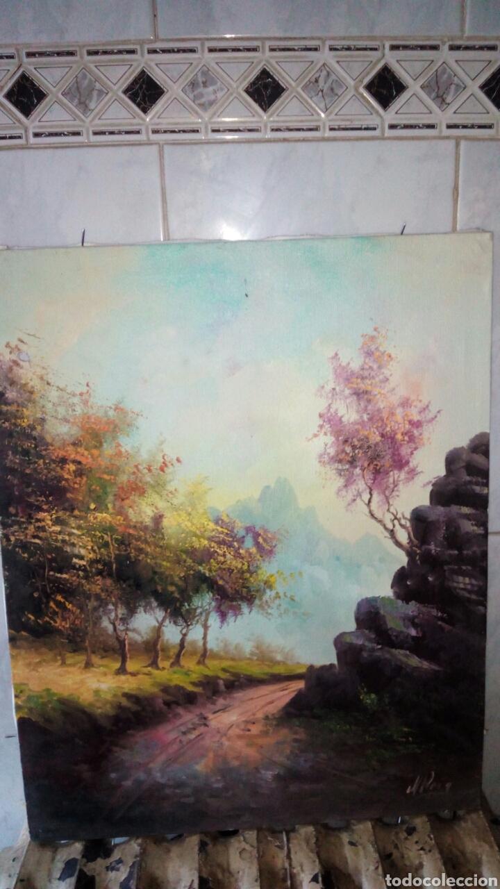 CUADRO OLEO SOBRE LIENZO, FIRMADO. (Arte - Pintura - Pintura al Óleo Contemporánea )