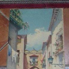 Arte: J. BELLIDO. OLEO SOBRE LIENZO 52X28. FIRMADO. MARCO GRATIS.. Lote 190645863