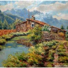 Arte: ÓLEO SOBRE TELA. TOMÁS VILA, 1979. 63X53 CM. Lote 190749490