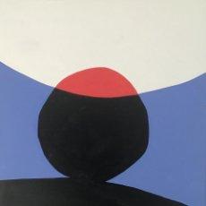 Arte: GEOMÉTRICO. COLORES. ACRILICO SOBRE LIENZO. 50 CM X 40 CM. Lote 190776065