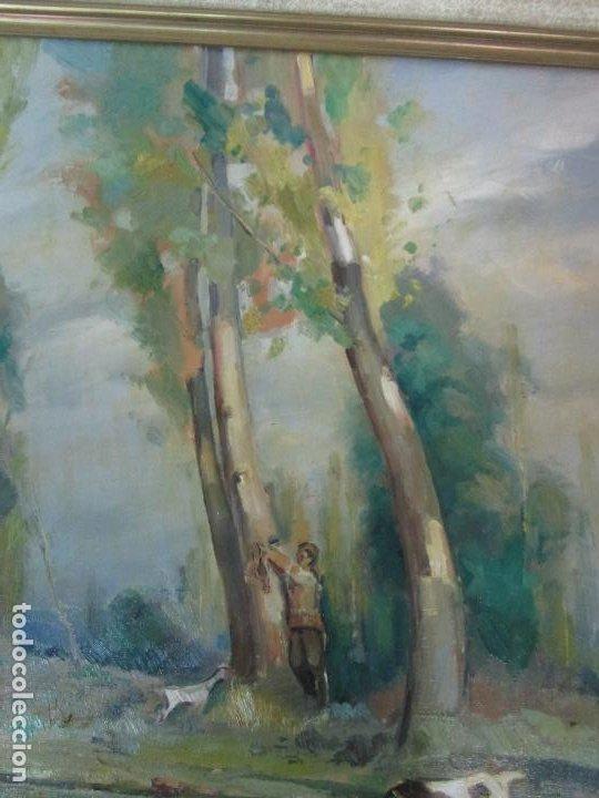Arte: Óleo sobre Tela - Ramón Barnadas (Olot 1909 - Girona 1981) - Paisaje - Escuela de Olot - Año 1943 - Foto 9 - 190794787