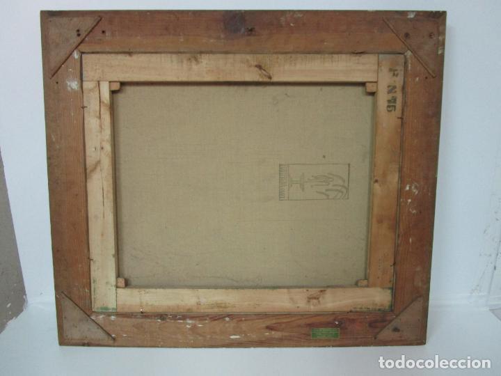 Arte: Óleo sobre Tela - Ramón Barnadas (Olot 1909 - Girona 1981) - Paisaje - Escuela de Olot - Año 1943 - Foto 13 - 190794787