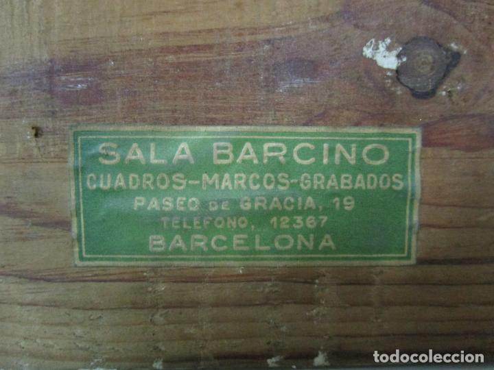 Arte: Óleo sobre Tela - Ramón Barnadas (Olot 1909 - Girona 1981) - Paisaje - Escuela de Olot - Año 1943 - Foto 14 - 190794787