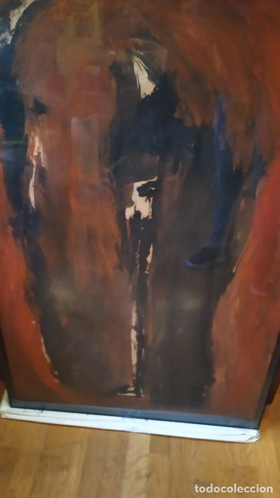 Arte: óleo del pintor valenciano Luis Moscardó año 1987 - Foto 2 - 190897256