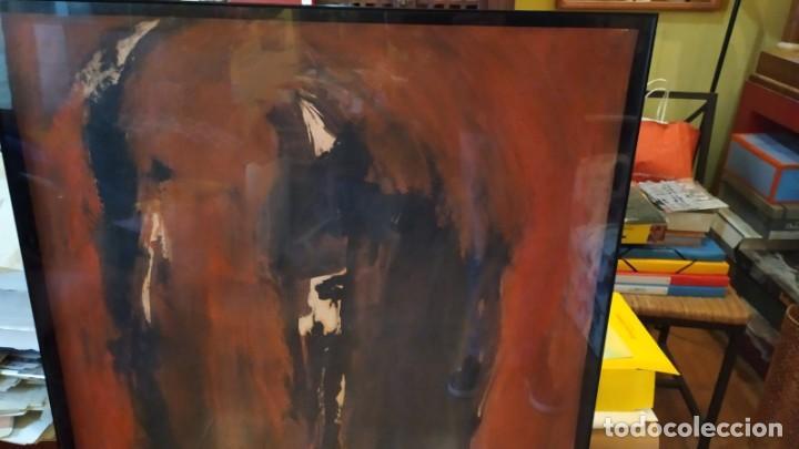 Arte: óleo del pintor valenciano Luis Moscardó año 1987 - Foto 3 - 190897256