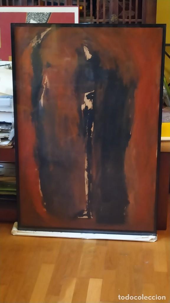 Arte: óleo del pintor valenciano Luis Moscardó año 1987 - Foto 5 - 190897256